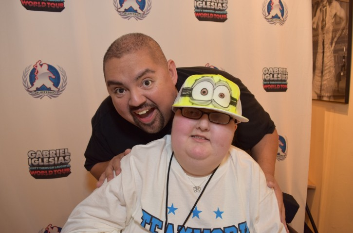 Stephaine and Gabriel Iglesias