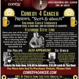 """Comedy 4 Cancer Presents. """"Shots & Giggles"""""""